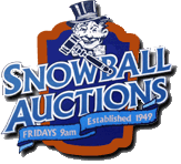 Snow Ball Auctions Logo